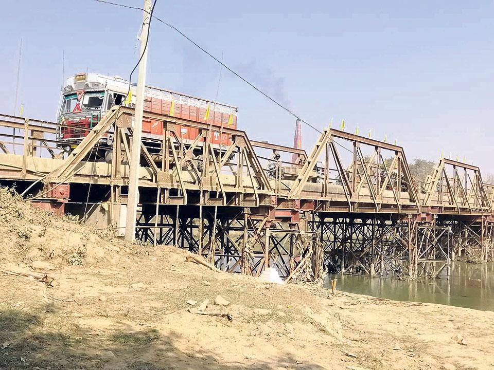 Mirjang Bridge shut down again