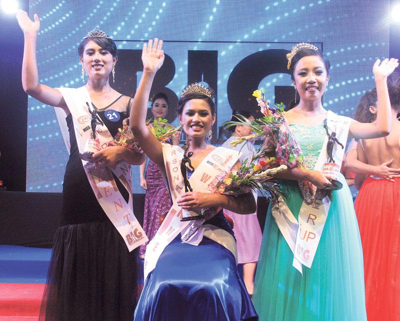 Simran bags Miss Plus 2 title