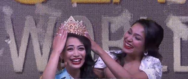 Namrata Shrestha wins Miss Nepal 2020