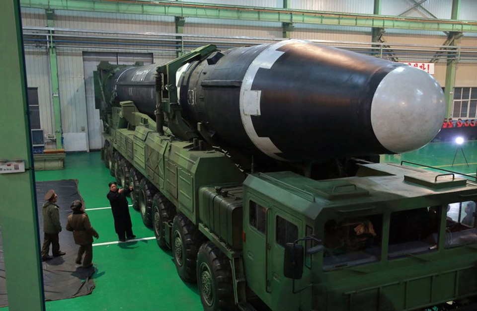 North Korea releases photos apparently showing latest missile test