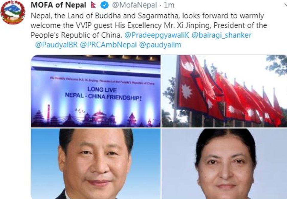 Xi Jinping's Nepal visit: here's tentative itinerary