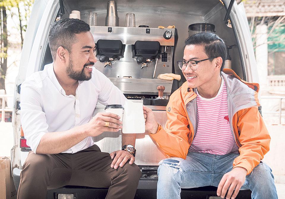 'Coffee 2 Go Nepal' brings mobile coffee stall in Kathmandu
