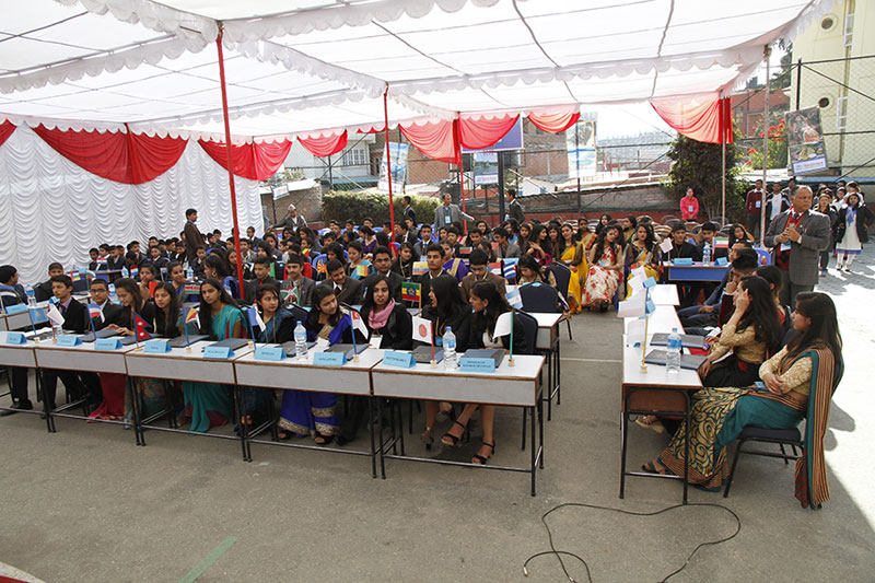 Nepal Model School conducts science exhibition