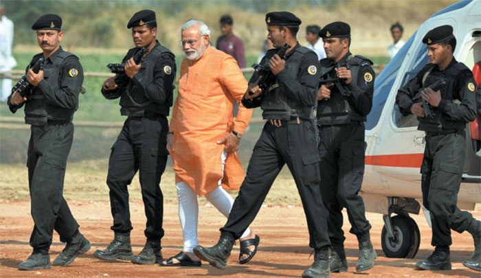 Why so elaborate fool-proof security for Modi?
