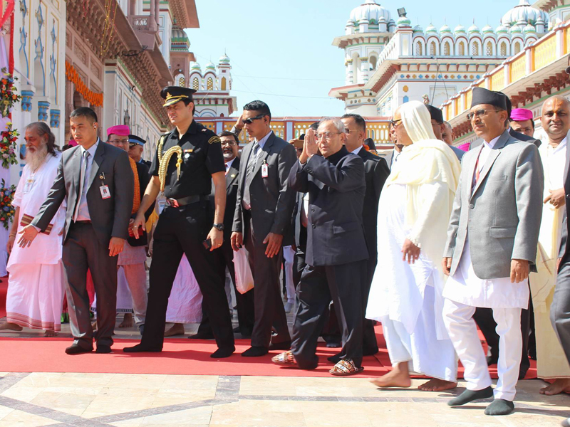 India will build two inns and a ring road in Janakpur: Mukherjee