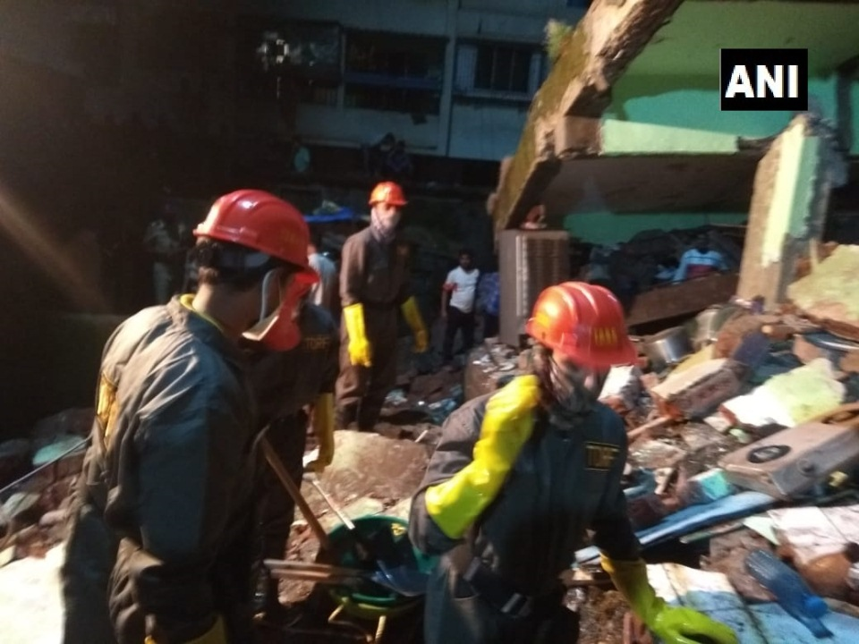At least eight dead in Mumbai building collapse, several feared trapped: reports