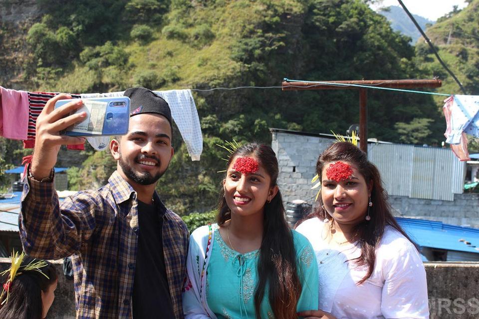 In pictures: Vijaya Dashami celebration