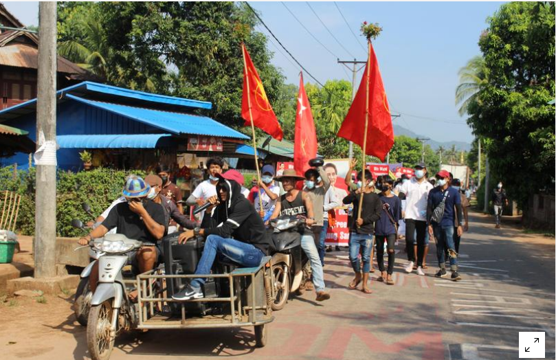 Myanmar security forces kill seven protesters, Chinese-owned factory set ablaze