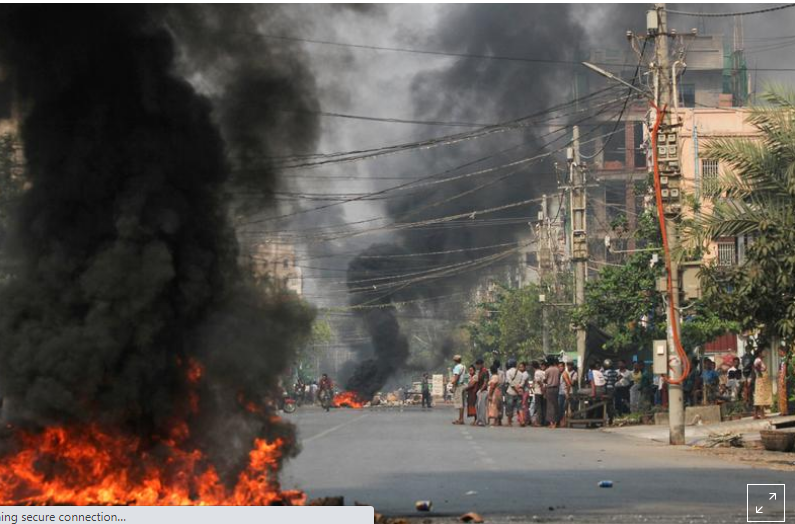 More than 90 killed in Myanmar in one of the bloodiest days of protests