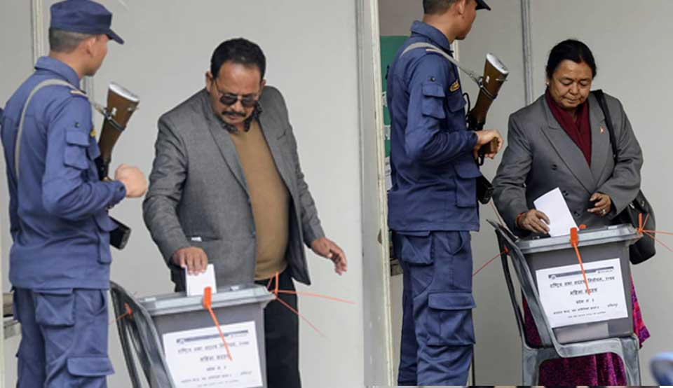 Upper House election starts (Photo feature)