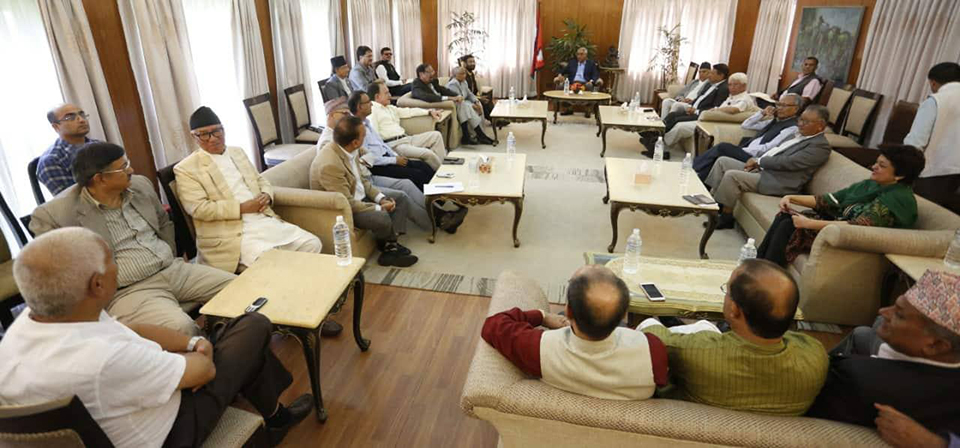 NC holding talks with various parties for democratic alliance