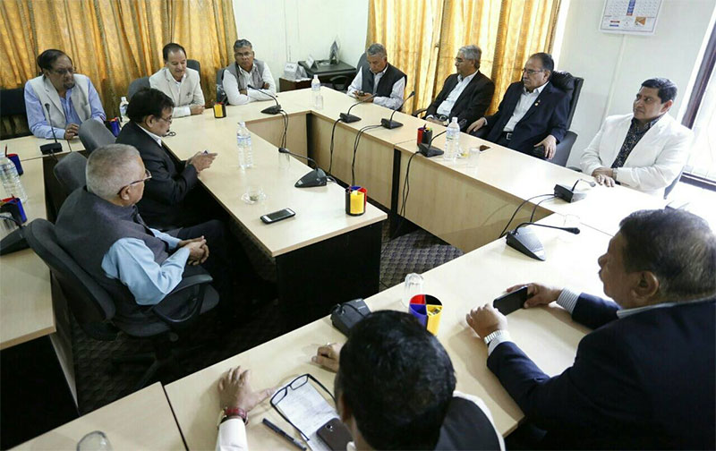 NC, CPN (MC) agree to hold local elections by April 2017