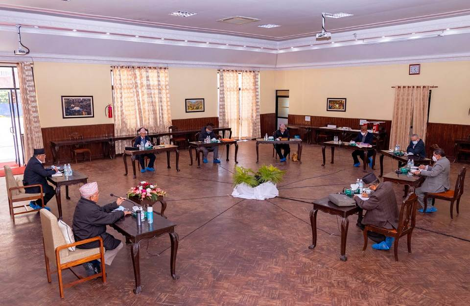 Chairperson KP Oli likely to skip party's Secretariat meeting today