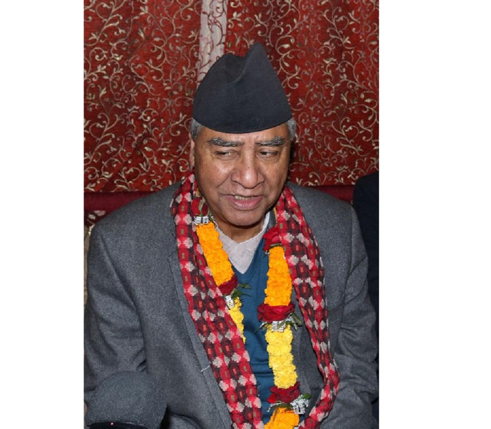 Nepal should accept MCC: NC President Deuba