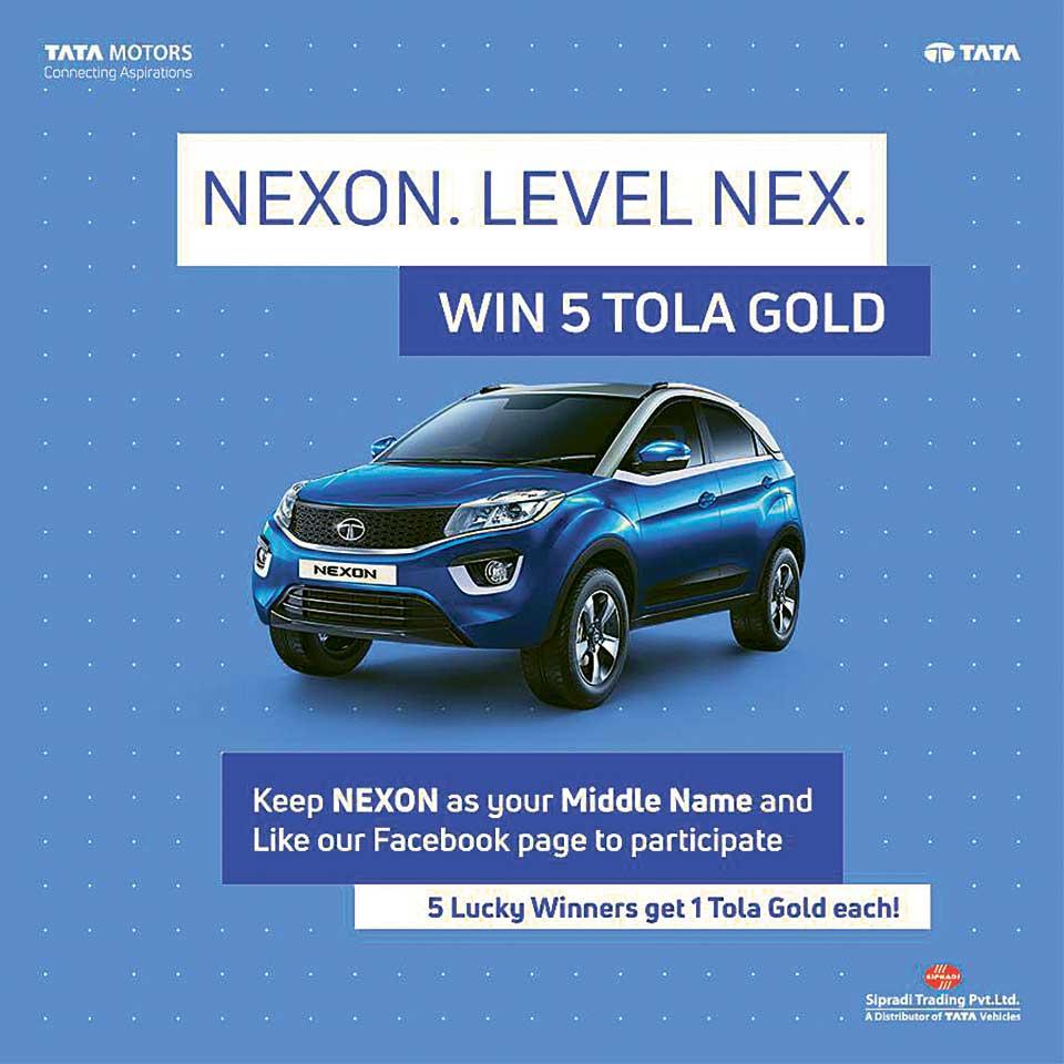TATA Nexon Facebook campaign launched