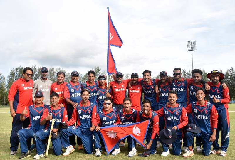 Nepal advances to Asia Cup semi, India crashes out