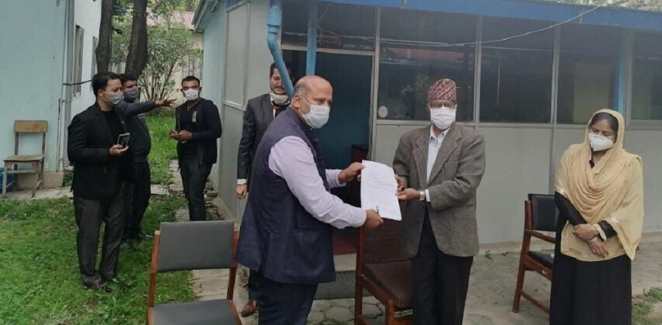 Janata Samajbadi Party lawmaker Yadav knocks NHRC door, accusing NCP lawmakers and ex-IGP Khanal of kidnapping him