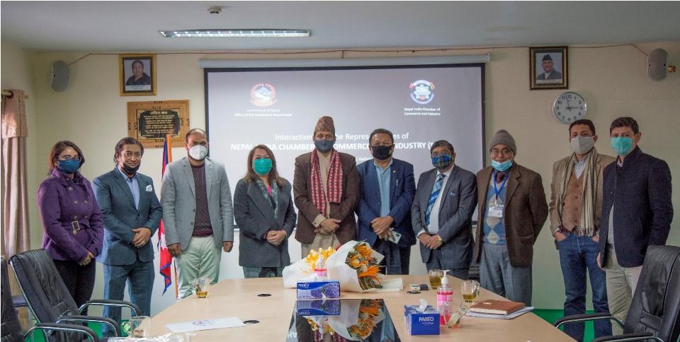 NICCI seeks IBN's support to organize Nepal-India partnership summit