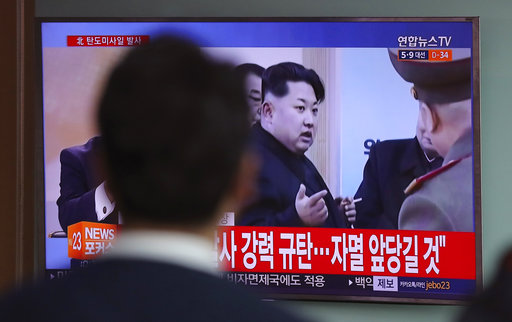 N. Korea fires ballistic missile ahead of Trump-Xi meeting