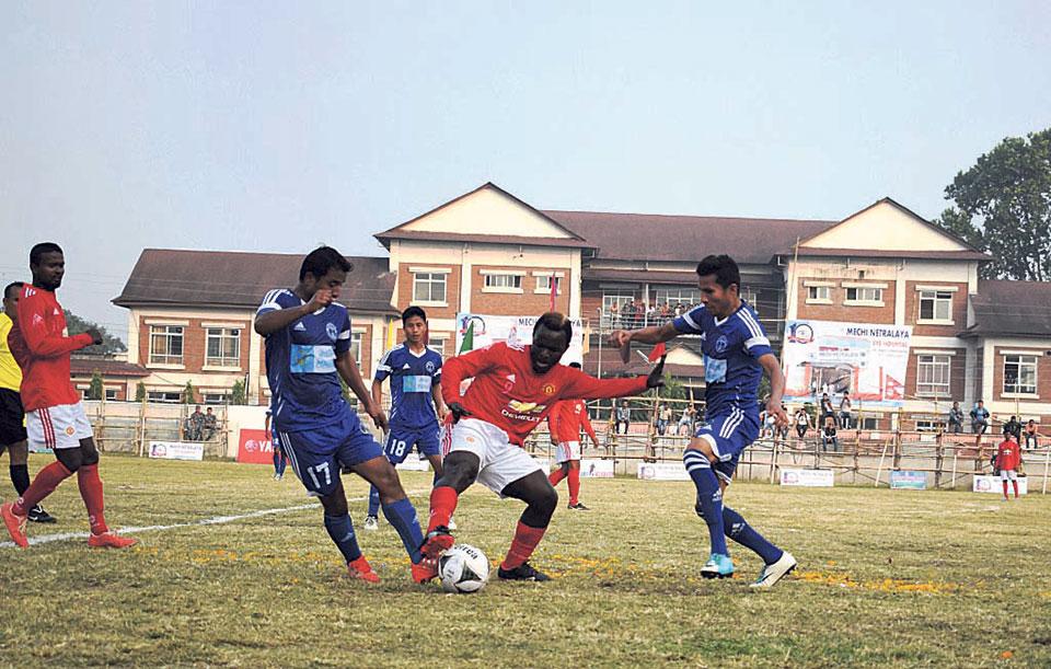 NPC thrashes SCBC to enter Kakarbhitta Gold Cup semis