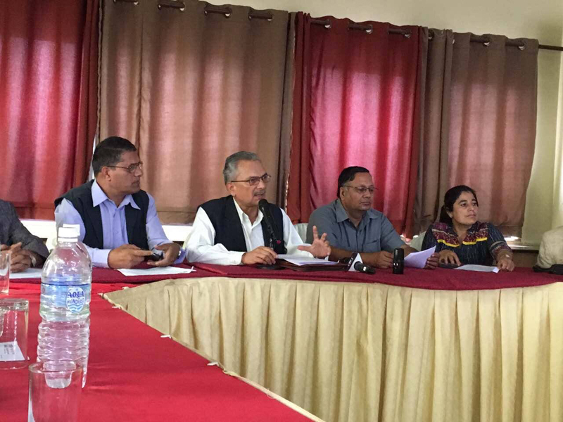 Naya Shakti flays decision to award Budhi Gandaki  to Gezhouba (with video)