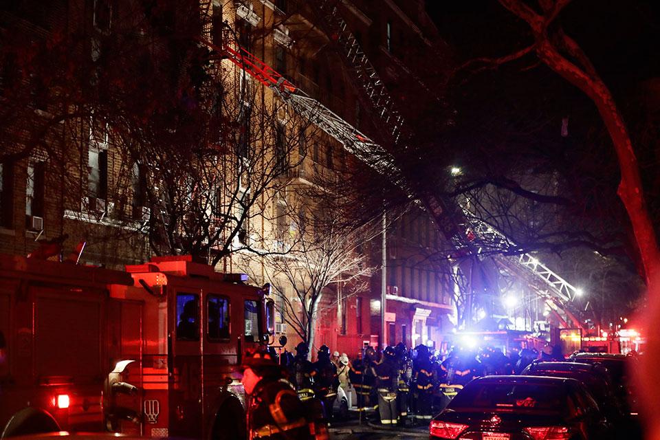 New York City fire kills 12, sends residents scrambling