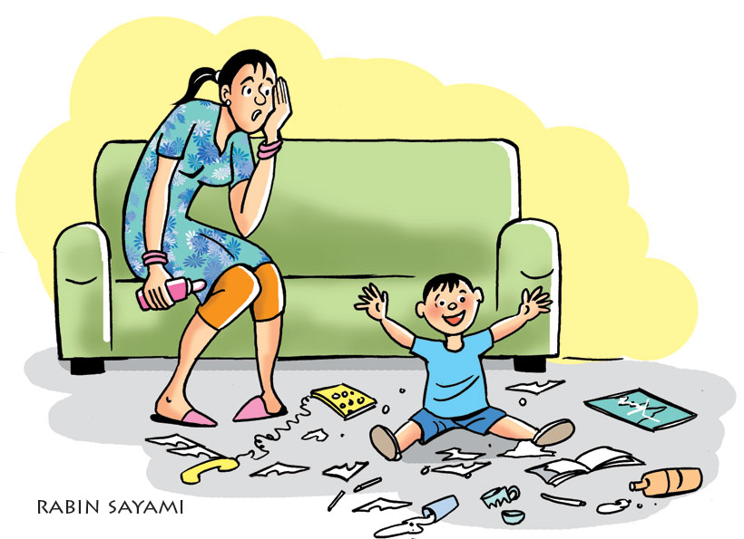 Parenting fouls