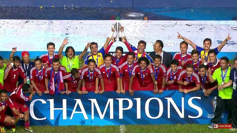 Nepal lifts AFC Solidarity Cup (Photo and video)