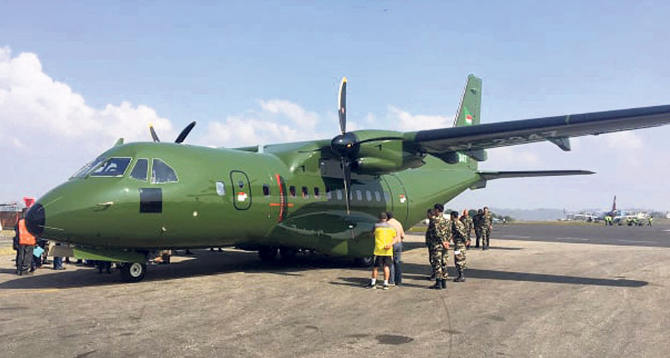 NA adds an Indonesian medium fixed-wing cargo aircraft to its fleet