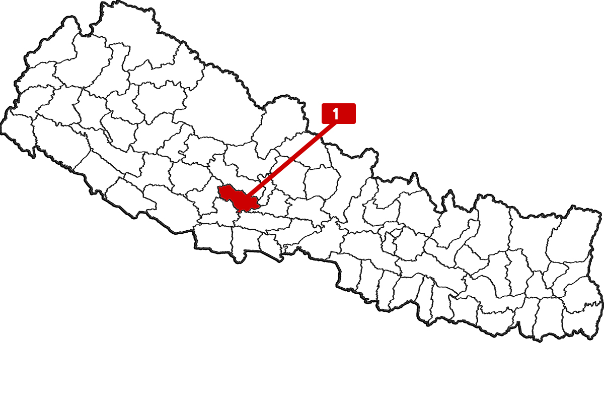 Local officials surprised as a man from Gulmi with no recent travel history tests positive for COVID-19