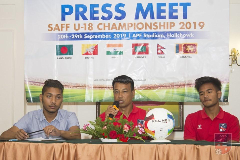 Nepal eyeing hat-trick in SAFF U-18 Championship