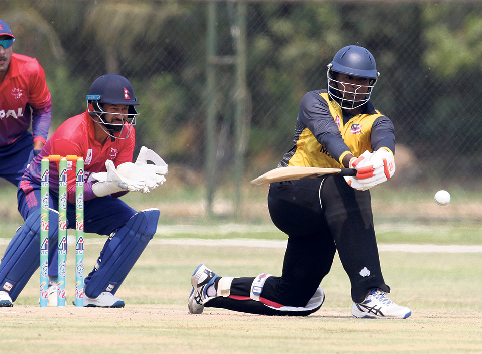 Batting collapse succumbs Nepal to 22-run defeat against Malaysia