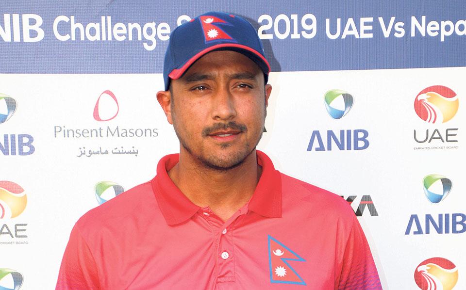 Nepal's longest-serving national cricket team captain Paras Khadka resigns