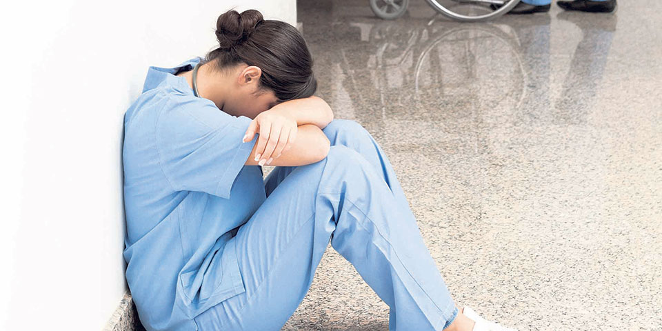 Nepali nursing students in Bangalore have a hard time
