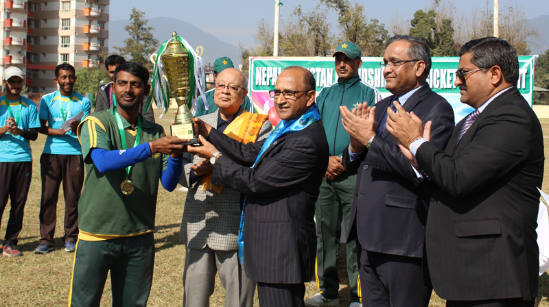 Nepal-Pakistan Friendship T-20 Cricket Tournament 2017 concluded