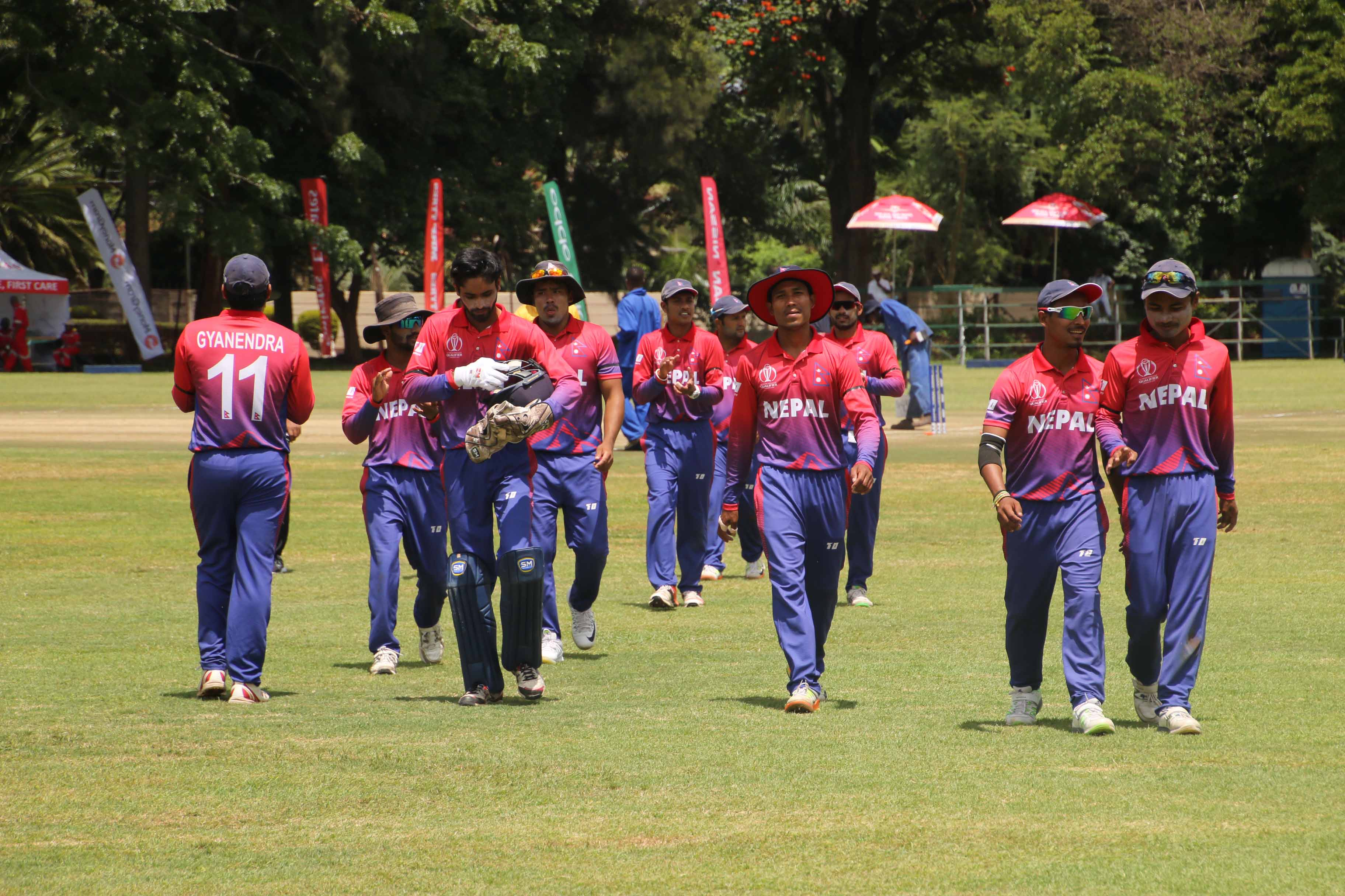 Nepal defeats PNG by 6 wickets