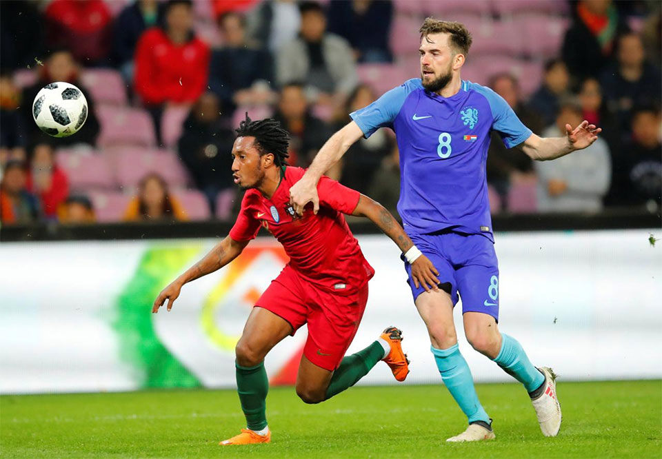 Soccer - Portugal suffer first-half collapse in 3-0 loss to Dutch