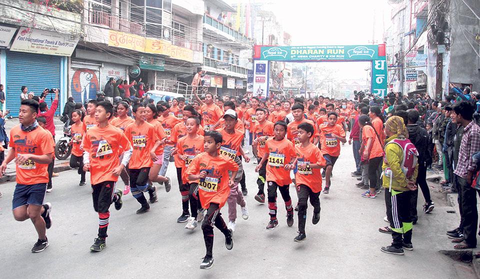 Pun's hat-trick at Newa Charity 8 km Run