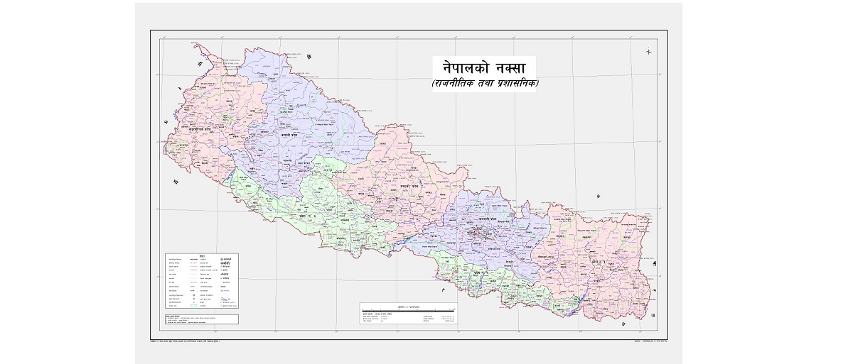 Govt sending revised map to UNO, international community