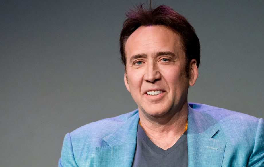 Nicolas Cage to star as himself in 'The Unbearable Weight of Massive Talent'