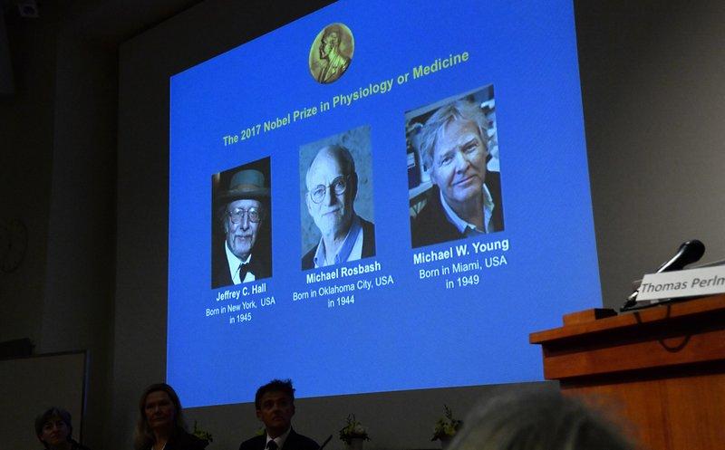 3 Americans win Nobel medicine prize for body rhythm work