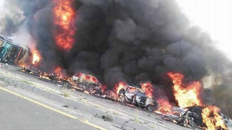 150 burnt alive in Pakistan oil tanker explosion