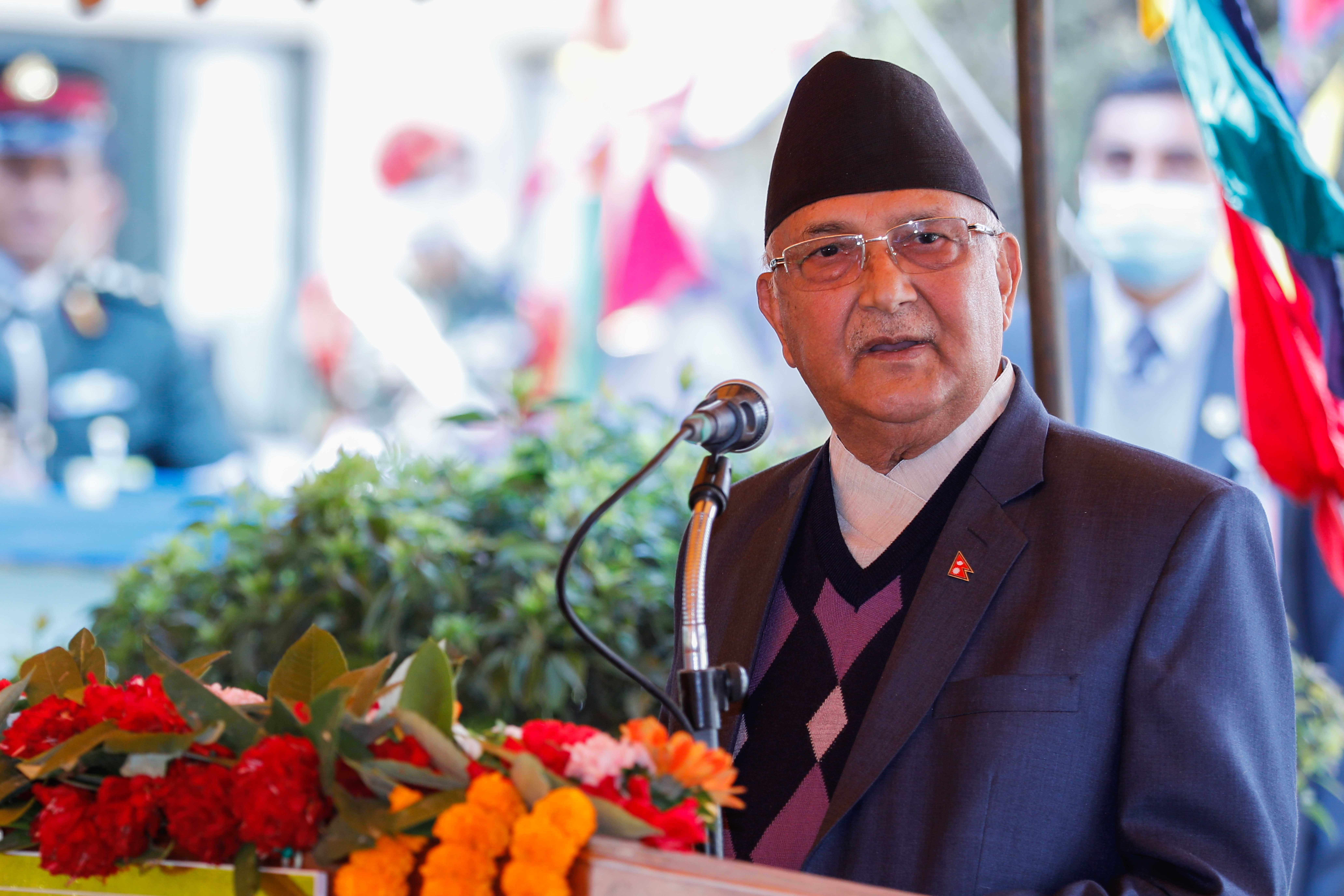 Some MPs belonging to UML's Nepal-led faction also joining parliamentary party meeting called by Oli