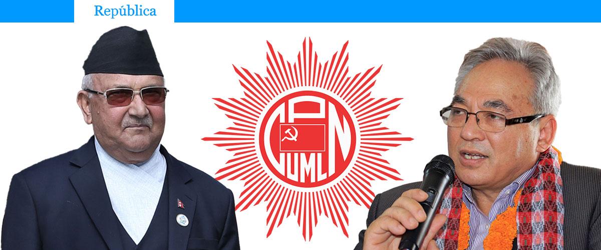 Oli nominates 23 ex-Maoist leaders including Ram Bahadur Thapa as UML CC member (With full list)