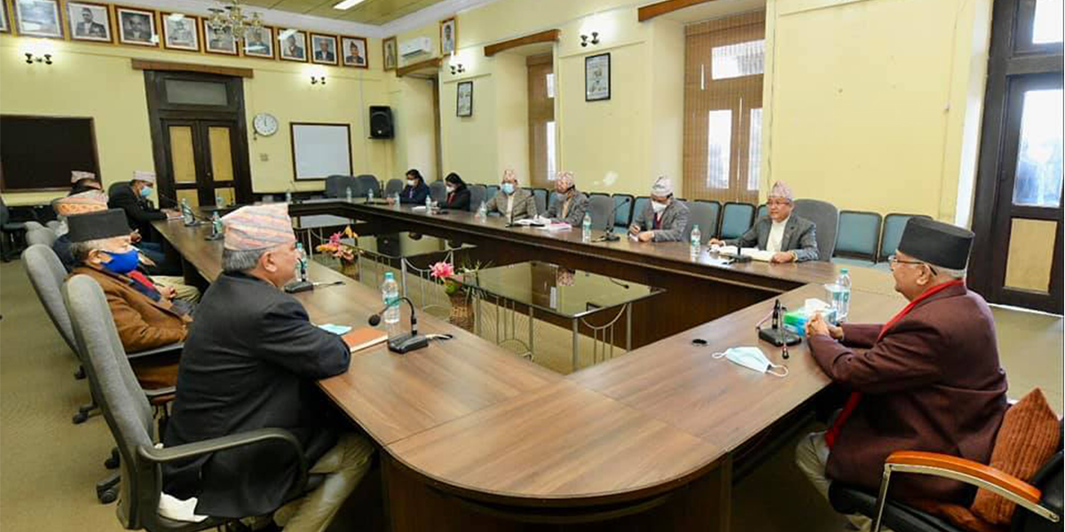 PM Oli urges Election Commission to expedite preparations for midterm polls