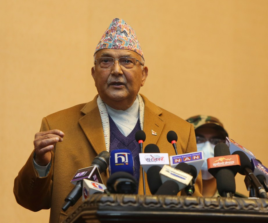 Those opposing House dissolution are against democracy, constitution: PM Oli
