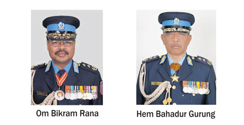 Two ex-IGPs surrender to SC, sent to jail - myRepublica - The New