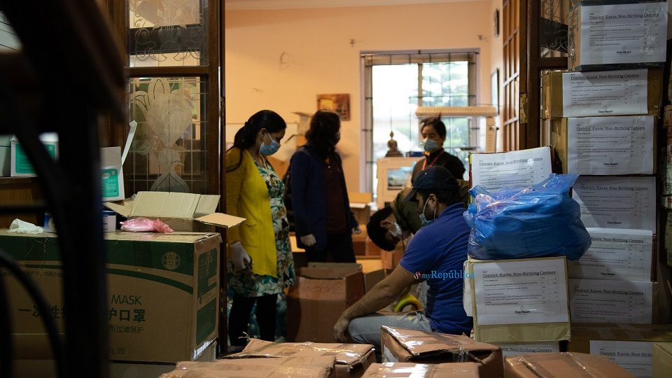 One Heart Worldwide provides health equipment to Udayapur district