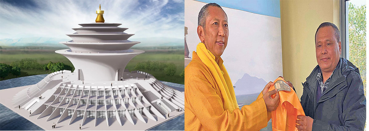 One rupee campaign to build Universal Peace Center in Lumbini