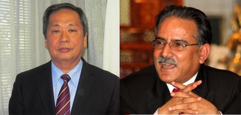 Japanese Ambassador calls on PM Dahal